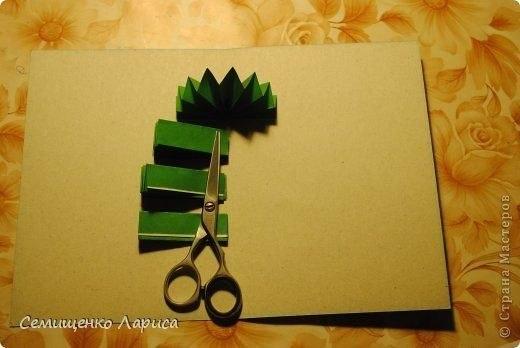 Сделать открытку елочку своими руками