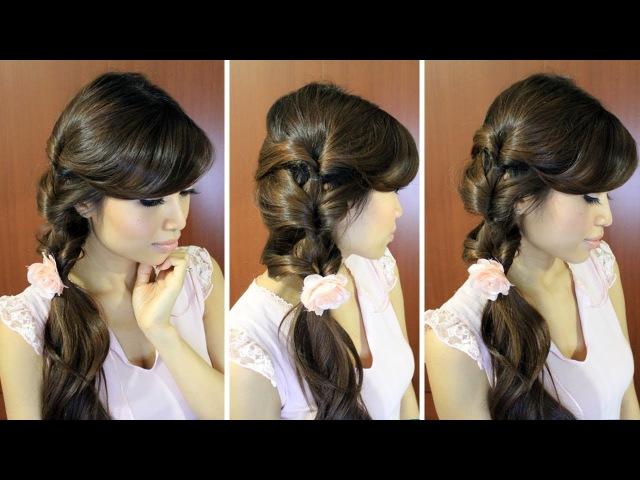 красивые кудри на средние волосы в домашних условиях фото пошагово - Делаем всё сами